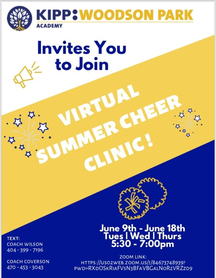 Virtual Summer Cheer Camp