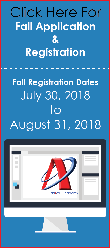 Click Here For Fall Registration