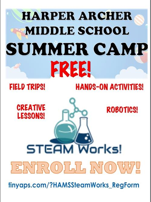 HAMS Summer Camp - Steam Works