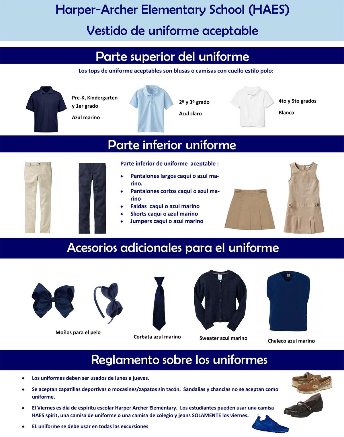 HAES Uniform (Spanish)