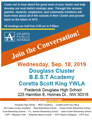 Douglass Cluster Community Meeting