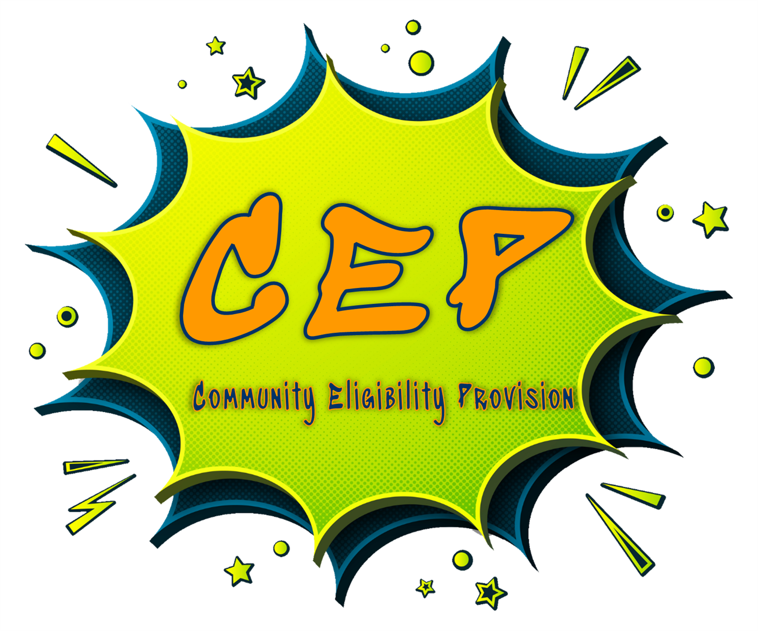 54 Schools Participating Community Eligibility Provision (CEP) - Free School Breakfast and Lunch For Every Student Everyday Day!
