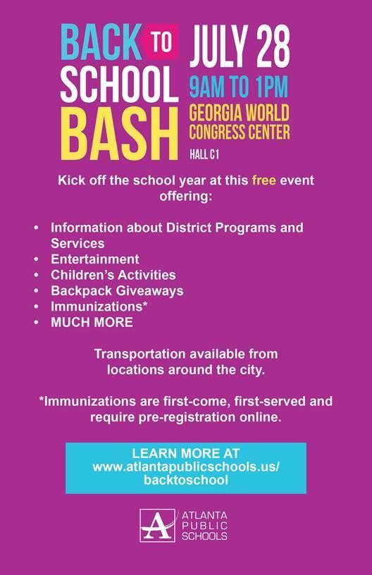 Back To School Bash 2018