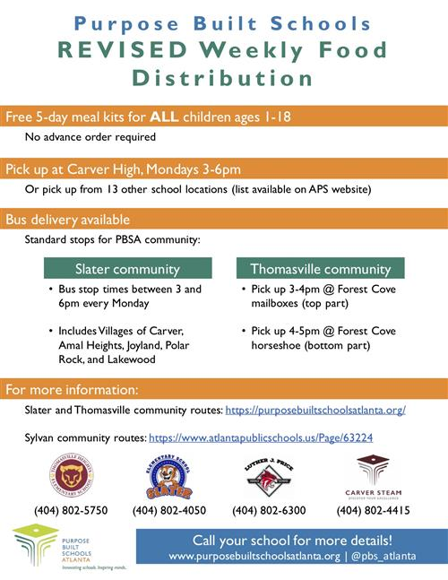 PBSA Food Distribution