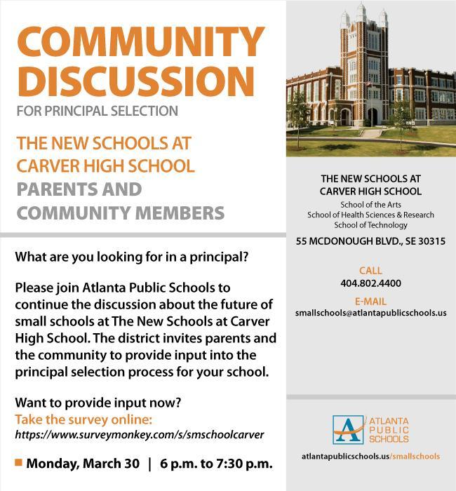 Carver principal selection