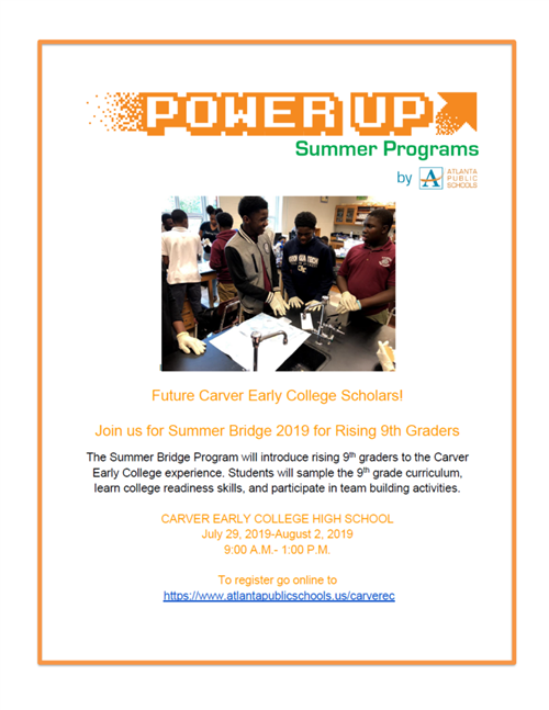 PowerUp Summer Bridge Flyer