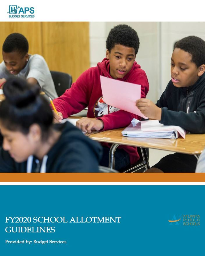 FY20 School Allotment Guidelines