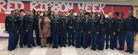 Cadets Participate in JA Day