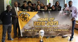 Lady Astros receive Banner
