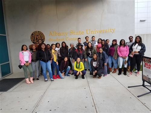 Grady Students visit Albany State