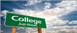College sign