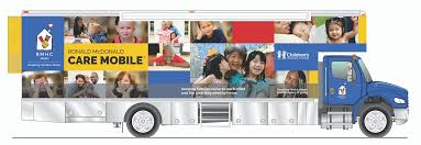 The Ronald McDonald Care Mobile® is bringing immunizations to medicaid-eligible kids and teens ages 4 and up!