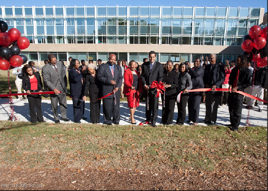 Therrell Ribbon Cutting
