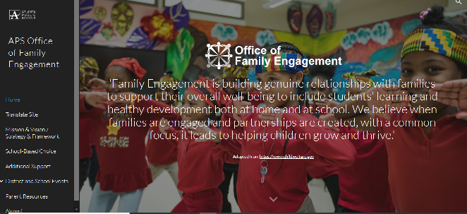 For Parents - APS Office of Family Engagement