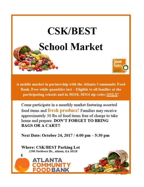 CSK/BEST School Market