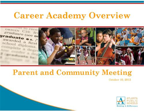 Career Academy Overview Presentation