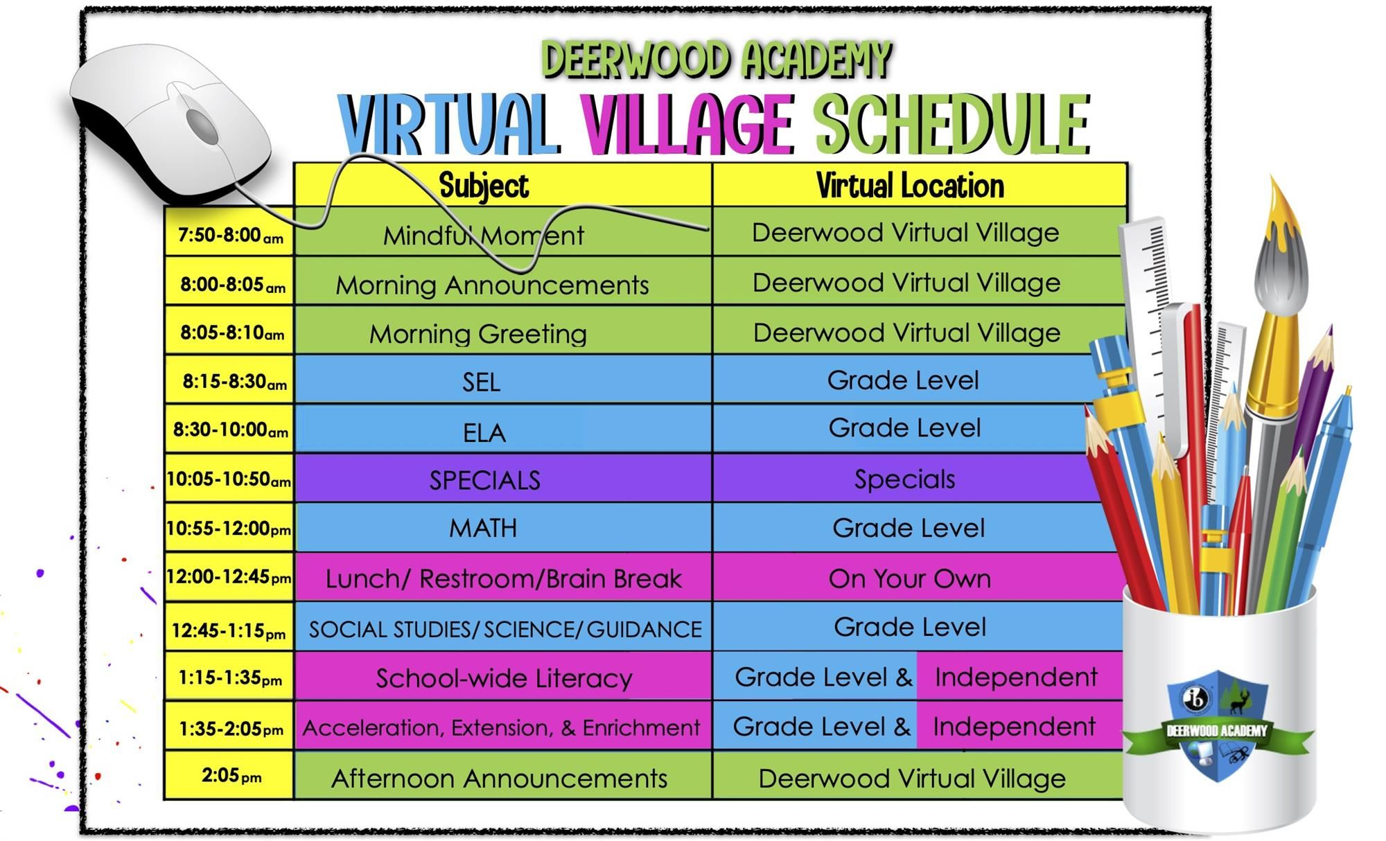 2021 Virtual Sched