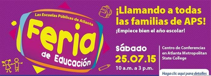 Spanish Back to School Banner