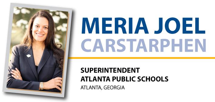 APS superintendent Dr. Meria J. Carstarphen