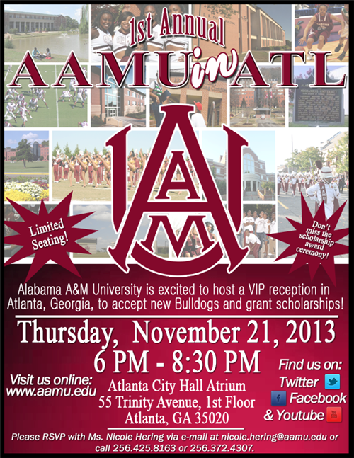 AAMU College Visit Coming Soon!!