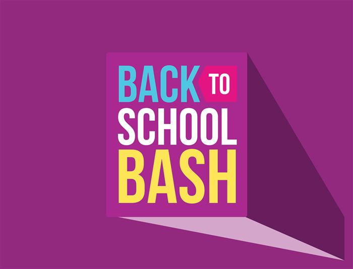 Second Annual Back-To-School Bash July 30