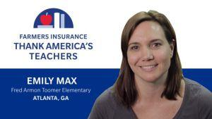 12/1 APS Teacher Wins $100K Grant From Farmer's Insurance