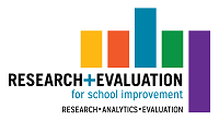 Research and Evaluation Logo