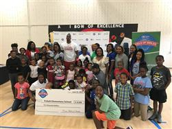 Fickett Recieves $10k from Dwight Howard, Crest, Publix, and Proctor&Gamble!