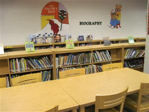 Peyton Forest Elementary School Media Center