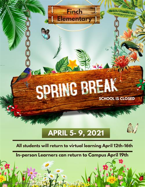 Spring Break Flyer