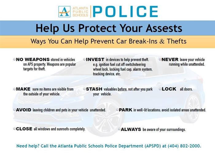 Help Us Protect Your Assests