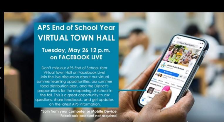 APS End of School Year Virtual Town Hall Meeting