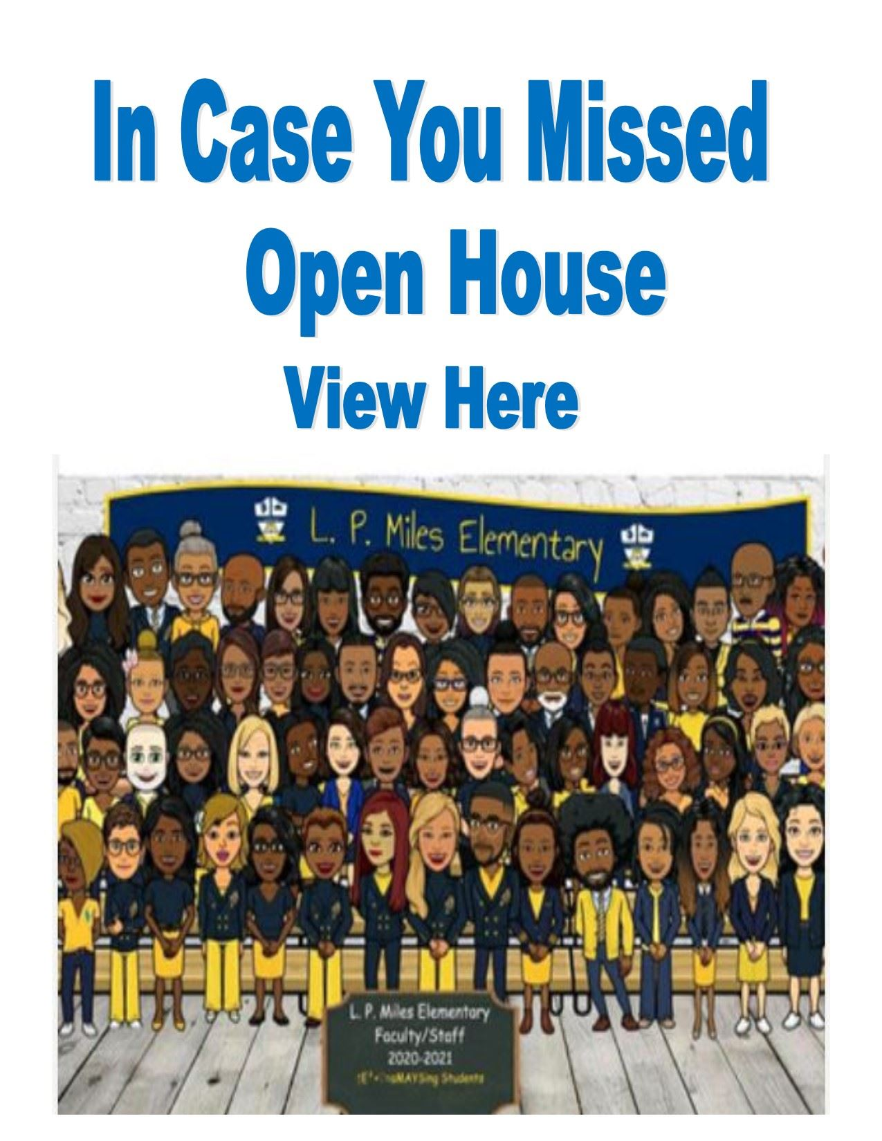In Case You Missed our Virtual Open House