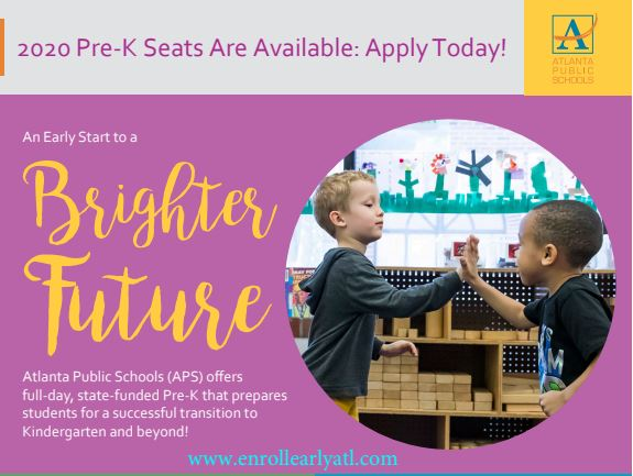 2020 Pre-K Seats Are Available: Apply Today!