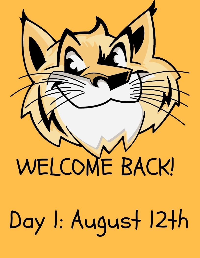 Day 1 for students- August 12th 2019