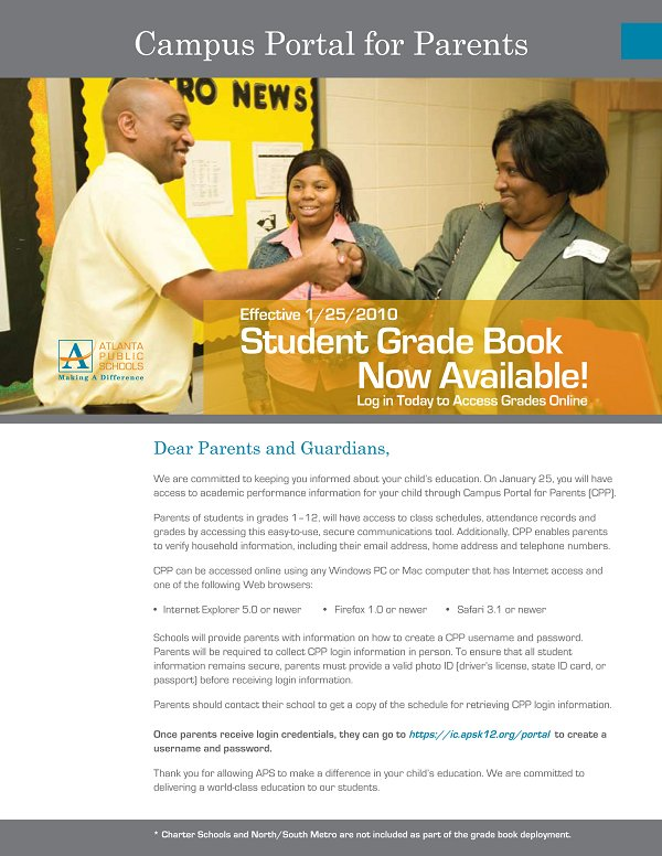 Parent flyer pg1