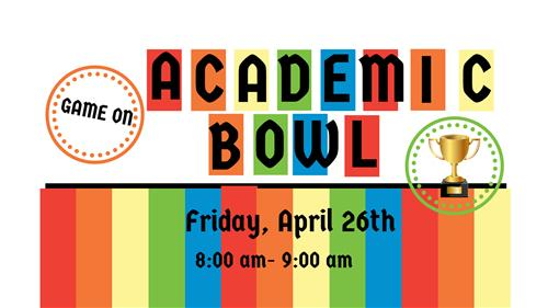 Academic Bowl Flyer