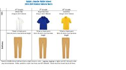 2019-2020 Uniform Requirements