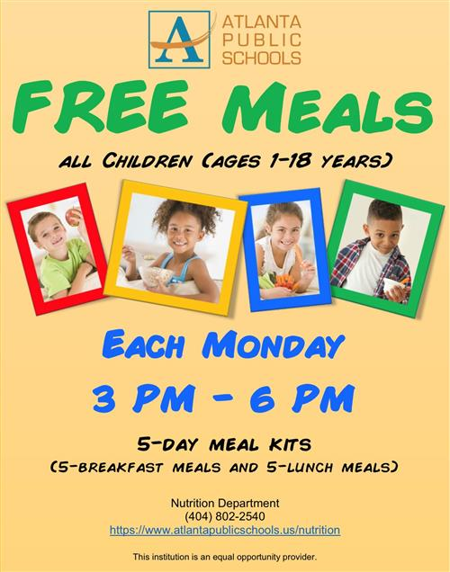 Effective immediately APS families no longer need to register/order meals through MySchoolBucks. Meals will be free weekly