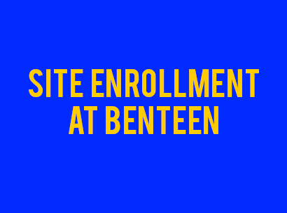 Get Enrolled at Benteen.  Learn the process to be prepared.