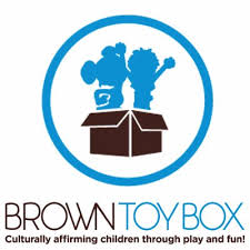 brown toy box