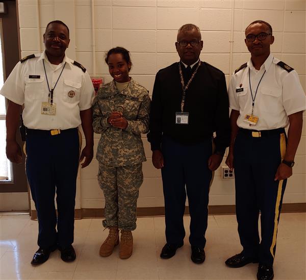 Cadet Jasmine Dennis