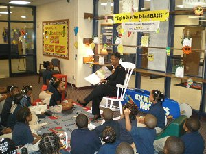 Ms. Muhammad visits C.W.Hill